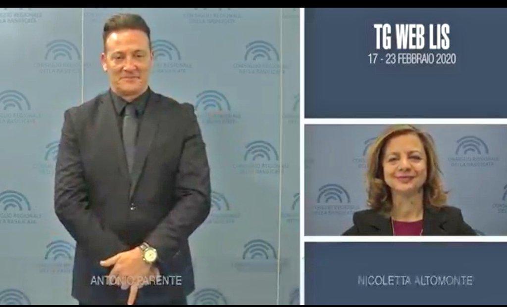 Tg web #lis  17-23 febbraio 2020  #accessibilitá ...