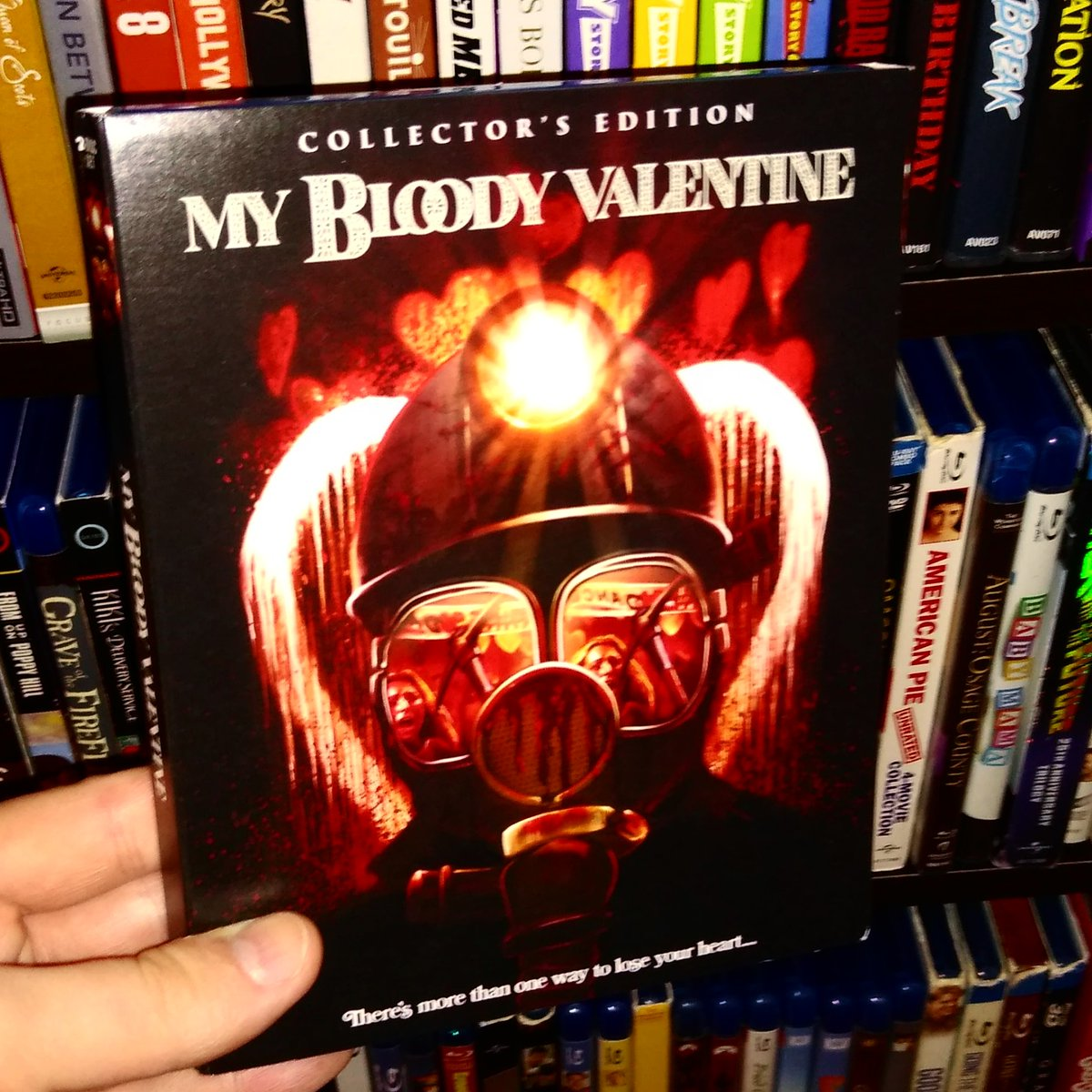 Love this release! The colors pop off the screen! The clarity is amazing! The ext scenes are seamless and cleaned up. One of the best releases from SF!! #MyBloodyValentine #Bluray #NewRelease #cinephile #moviebuff #horror #horrormovie #horrorfanatic #slasher #gorepic.twitter.com/amrF4eqUy5