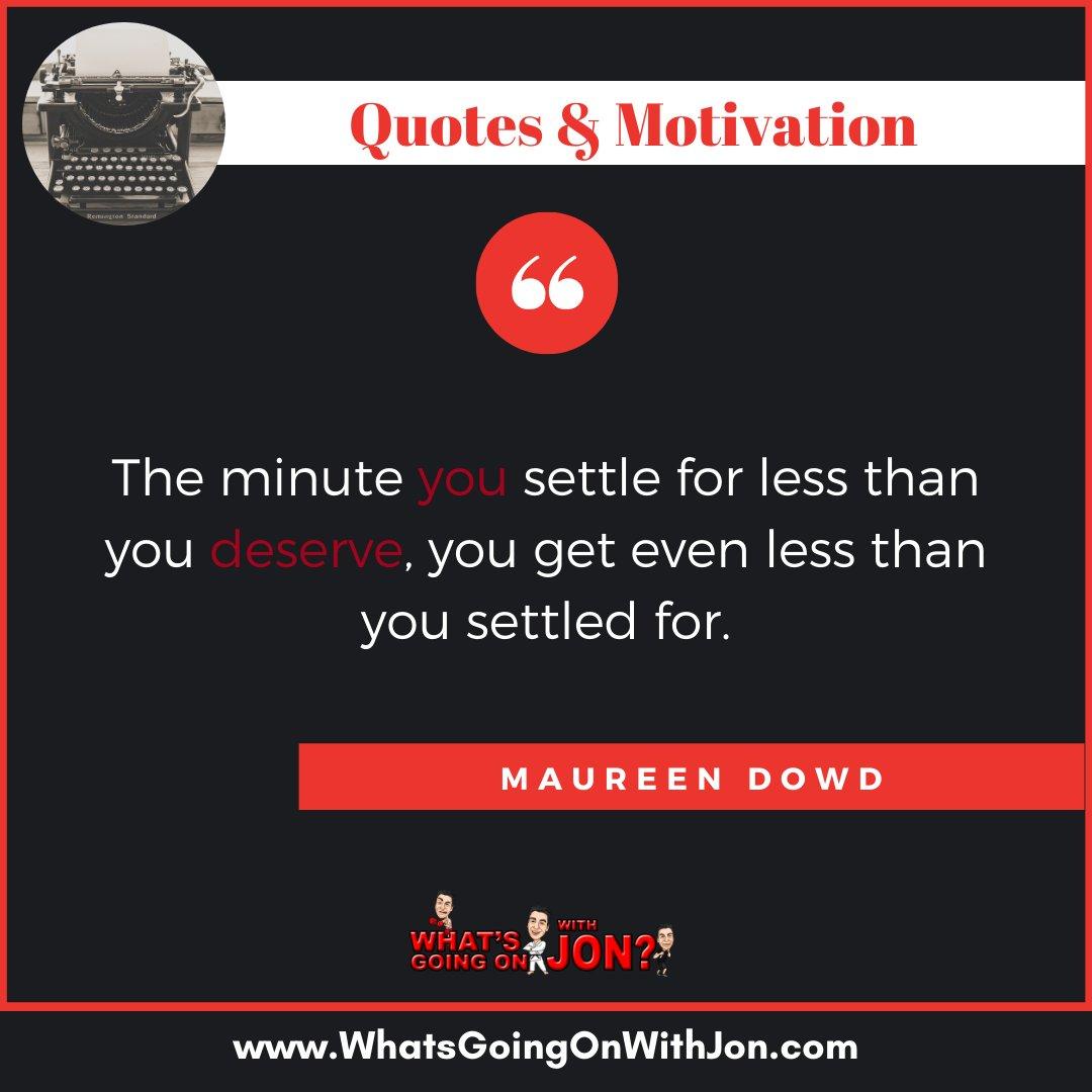 Know your worth. - #maureendowd #maureendowdquote #quoteofthedayy #quotestoliveby #quotestoponder #quotestolivebyforever #quotestomotivate #quotesilove #quotesloverpic.twitter.com/ioKuabmaAb