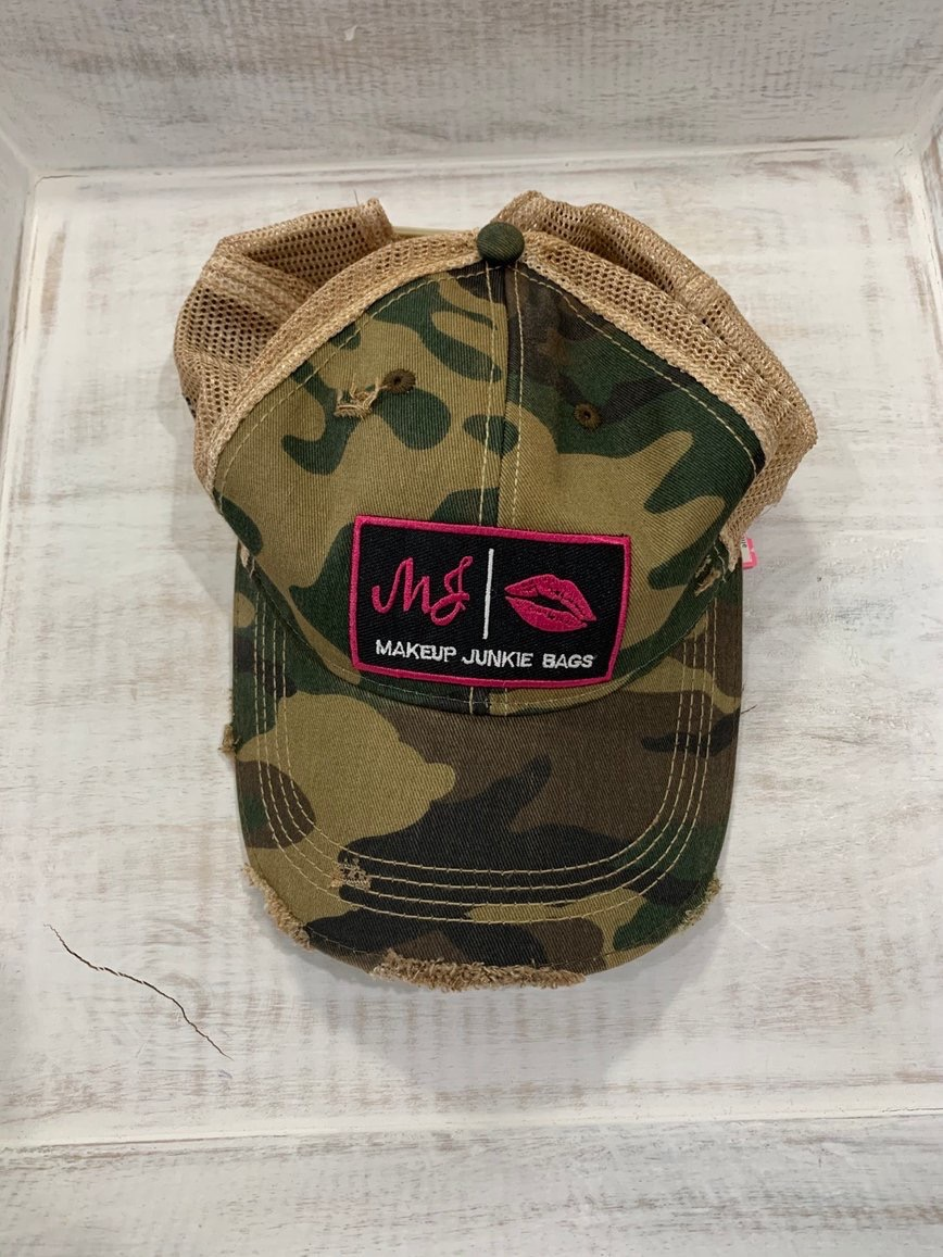 Isn't this Makeup Junkie cap cute!  Camo is all the rage now!  Get yours at http://corahcouture.com!    #boutique #mobileBoutique #MobileBoutiques #shopping #boutiqueshopping #MakeupJunkieBags #MakeupJunkie #CorahCoutureBoutique #fashionstyle #fashion #style #apparelpic.twitter.com/mSuT2B7WXx