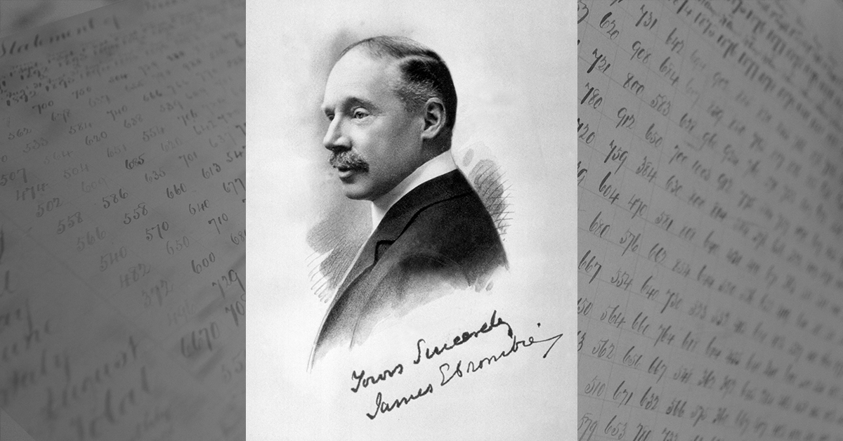 There's no better way to gain an appreciation of Crombie's proud heritage than through its family tree. This signed portrait of James Edward Crombie, grandson of our founder, captures the dignified presence of the celebrated philanthropist, meteorologist & seismologist. pic.twitter.com/WGC8AvMII9