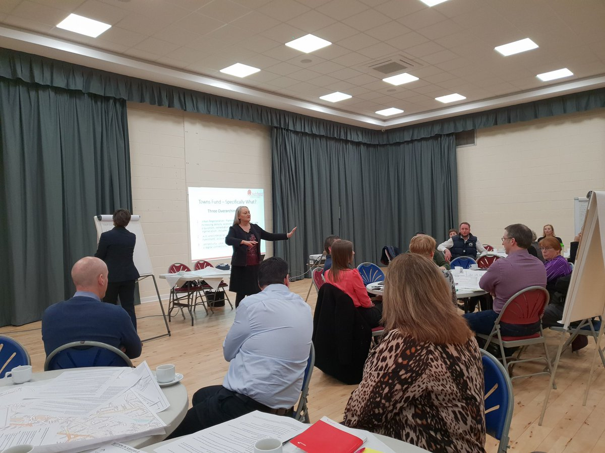Excellent stakeholder workshop in #Ashfield this morning. Got the basis of some really good ideas to help improve employability prospects @ADCAshfield #TownsFund #econdev