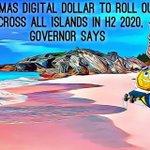Image for the Tweet beginning: Bahamas digital dollar 🇧🇸 ₿
