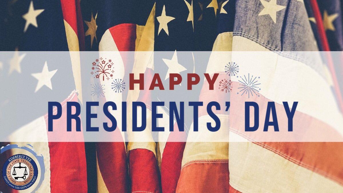 Arizona Treasurer @KimberlyYeeAZ wishes everyone an enjoyable #PresidentsDay!