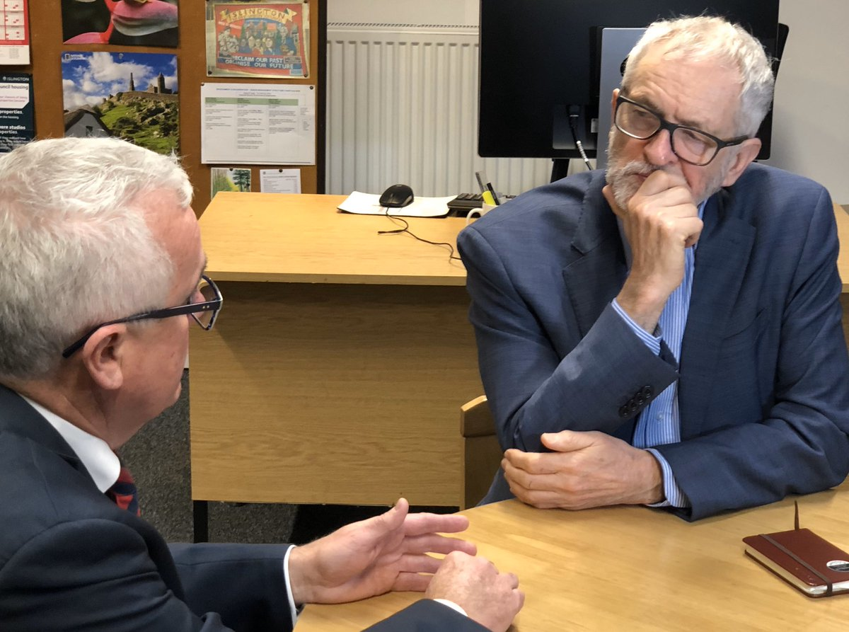 Great to see visiting Australian MP @WilkieMP and @jeremycorbyn give a great interview to ABC news with a very clear message: Don't Extradite Assange....