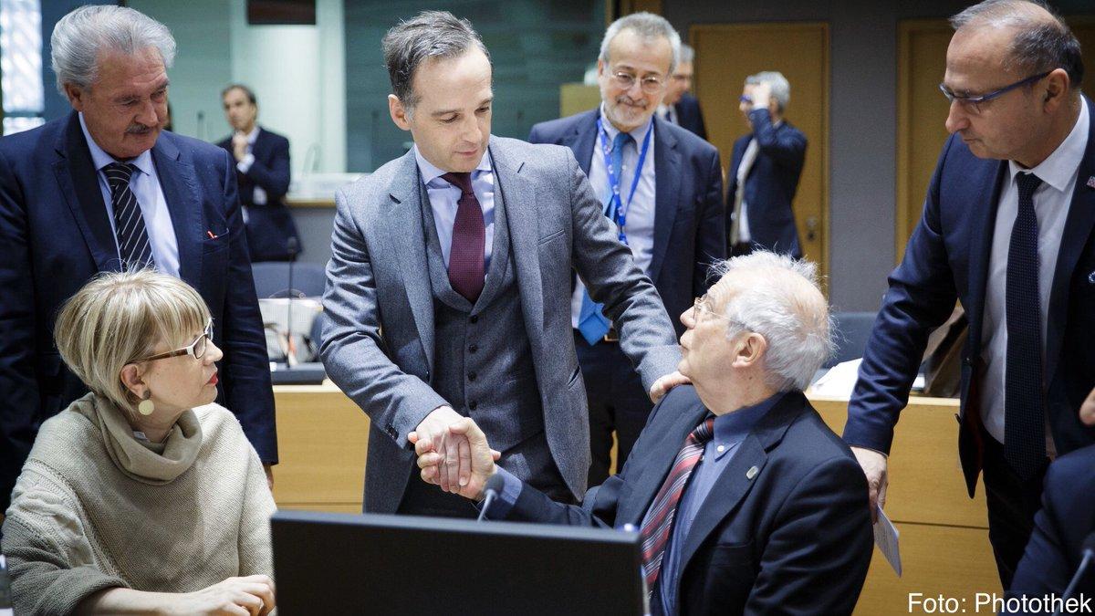 Die EU wird einen Beitrag leisten zur Überwachung des Waffenembargos in #Libyen. Wir werden jetzt die Details der neuen Mission erarbeiten, die auch eine maritime Komponente haben wird. Das ist ein großer Schritt für den Berliner Prozess.