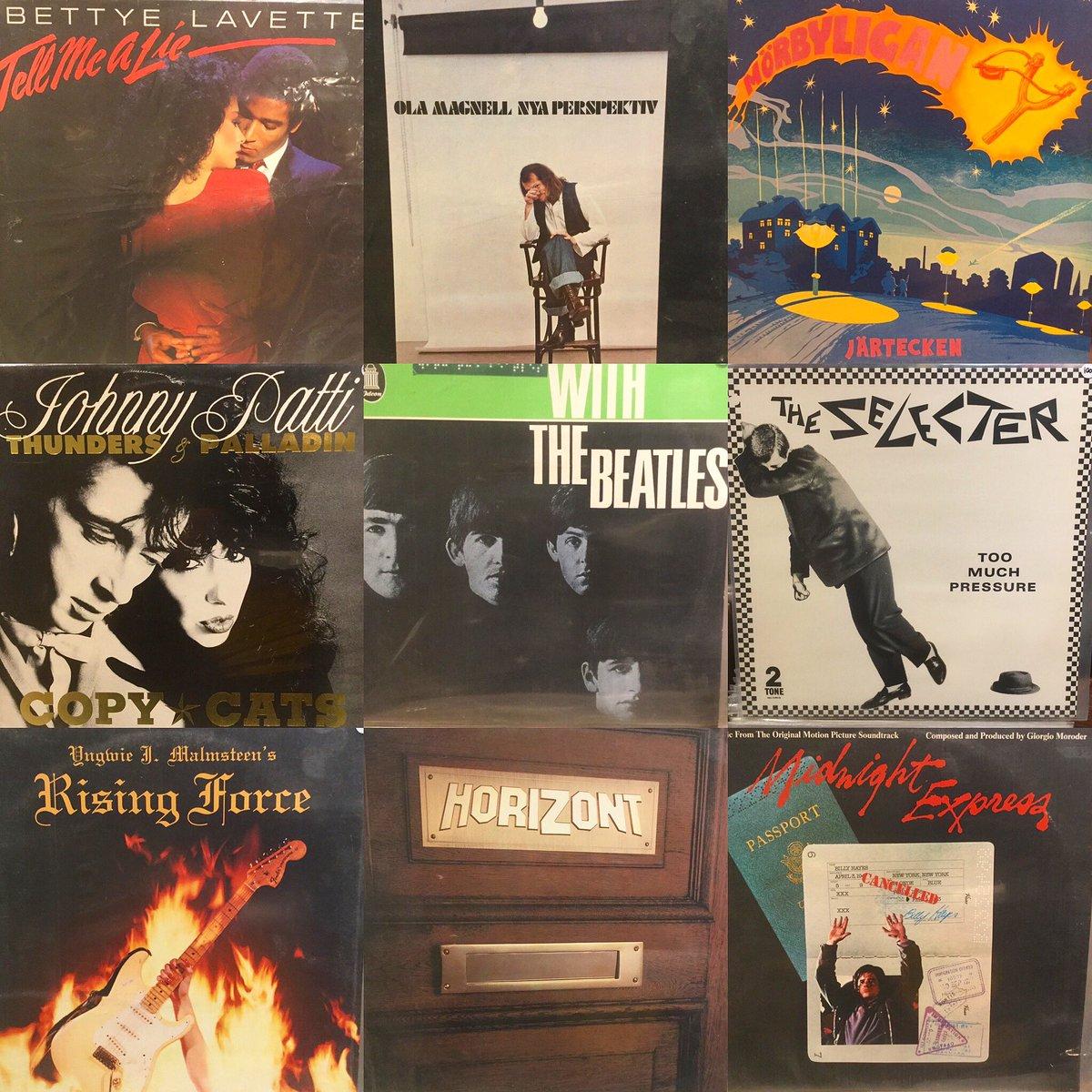 Tisdagens #vinylbukett av nyinkomna skivor Järnvägsgatan 8 Ängelholm tis, ons, tor, fre 12-18 lör 10-14 sön kl 12-15 Alltid nyinkommet! #vinyl #electricmudrecords #recordcollector #vinylrecords #vinylcommunity #recordshop #vinyladdict #recordstore #vinylcollector  #ängelholmpic.twitter.com/GHTfiDyje1