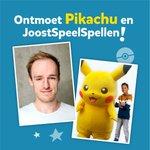 De Pokémon Ruildagen bij @Intertoys gaan weer van start! Woensdag 19-02 kun je in de vestiging van Almere Buiten van 16:00 - 16:30 met Pikachu op de foto. Dat is niet alles! @Joost_Bouhof zal ook aanwezig zijn (15:00 - 17:00), helemaal klaar om Pokémon kaarten met je te ruilen!