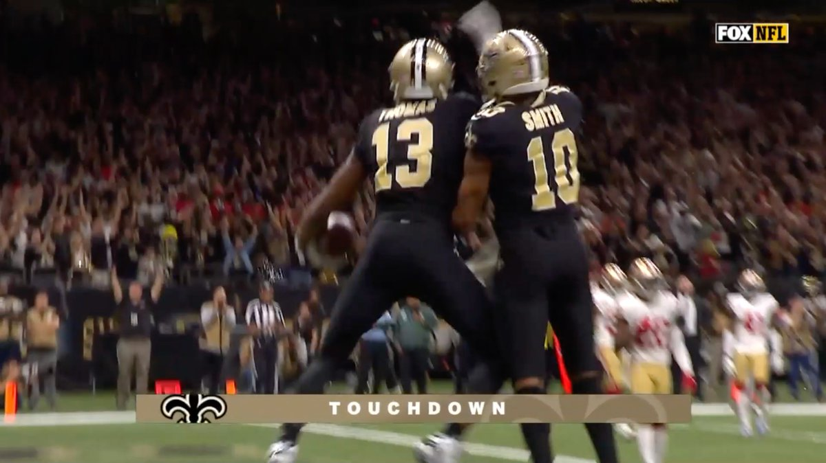The @Saints BEST offensive plays from this past season! ⚜️