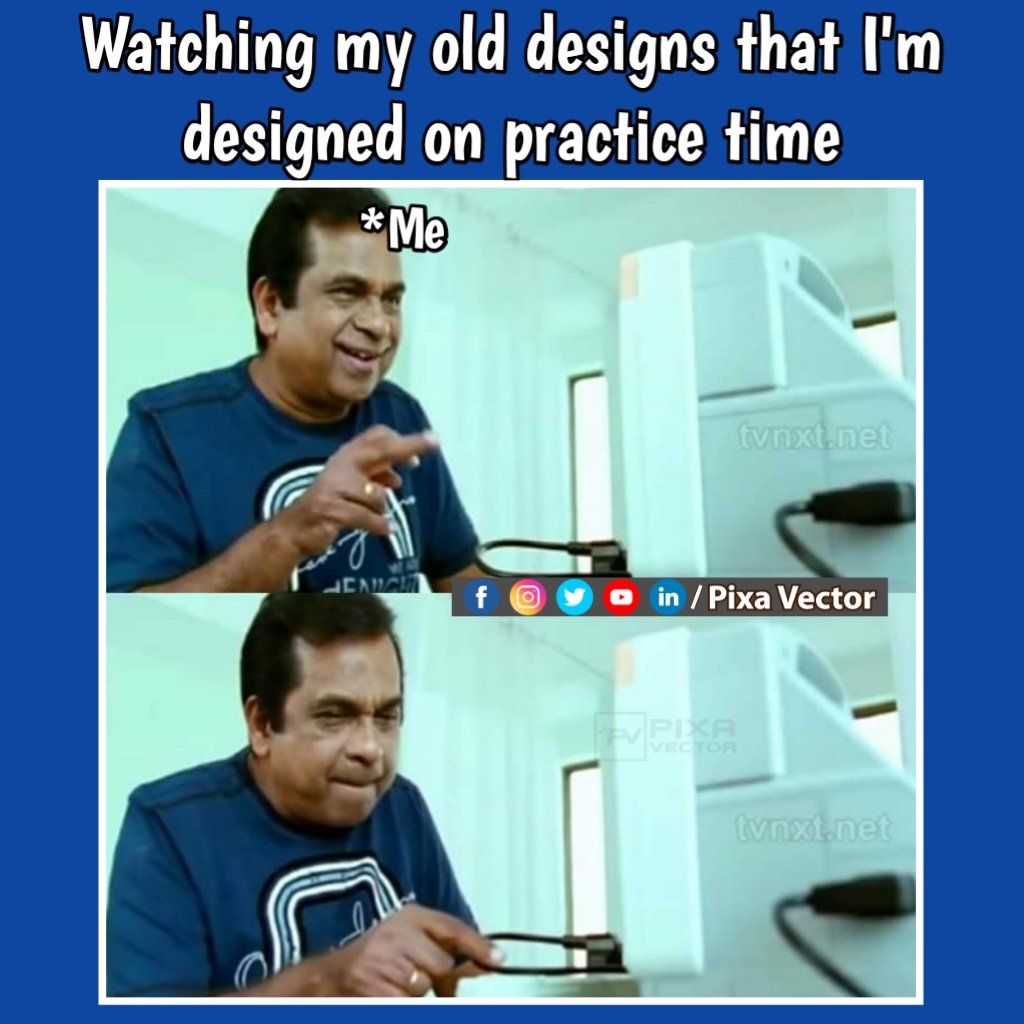 Memorable moments   . . . . . . . . . . . #graphicdesign #graphicdesigner #graphicdesignermemes #designermemes #meme #firstmeme #funnymemes #memorablemoments #oldmemories #pixavector ##indianmemes #softwarememes #photoshopmemes #clientmemespic.twitter.com/EU2b0kIvXB