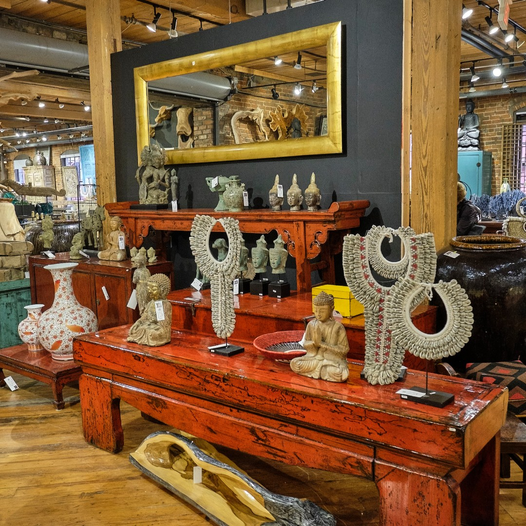 Check out our Indian and Indonesian inspired accessories and home decor. #asianloft #unique #Buddha #hpmkt #designonhpmkt #interiordesign #design #vases #shells #glass #homedecor #decor #accessories #furniture