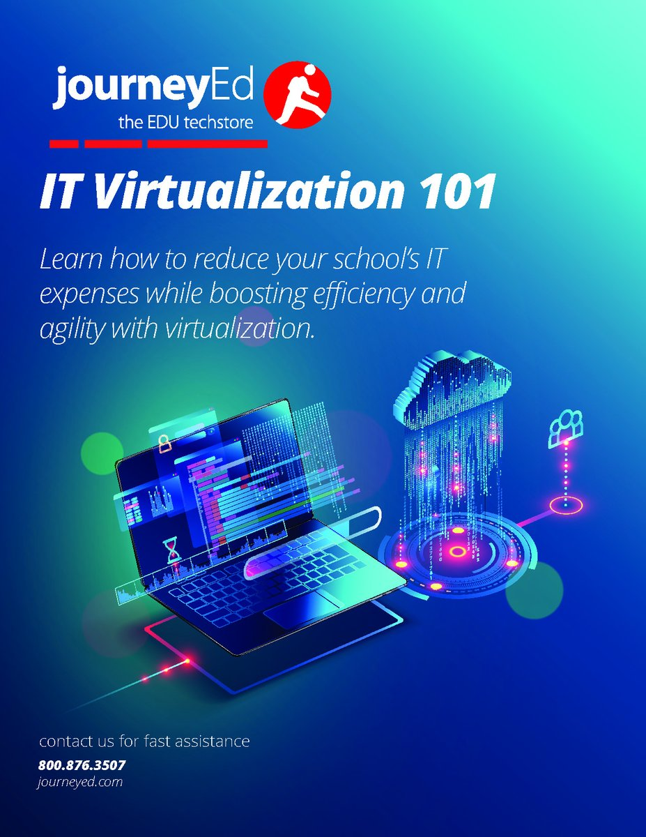 Learn How To Reduce Your School's IT Expenses While Boosting Efficiency and Agility with Virtualization  https://schools.journeyed.com/vmware-network-virtualization-overview/…pic.twitter.com/Pion0mVk8o
