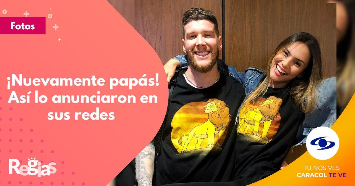 Vía @Regias  #Actualidad   ¡Felicidades! Dim y Danielle Arciniegas esperan nuevamente la visita de la cigüeña   http://bit.ly/2UXbQPtpic.twitter.com/zC7pjwjvsk