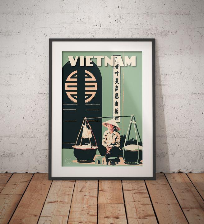 "Featured Art of the Day: ""Vietnam - Saigon - Vietnamese Door"". Buy it at: https://www.ArtPal.com/vintagepostertm?i=142970-15…pic.twitter.com/TRCtqiLHNh"
