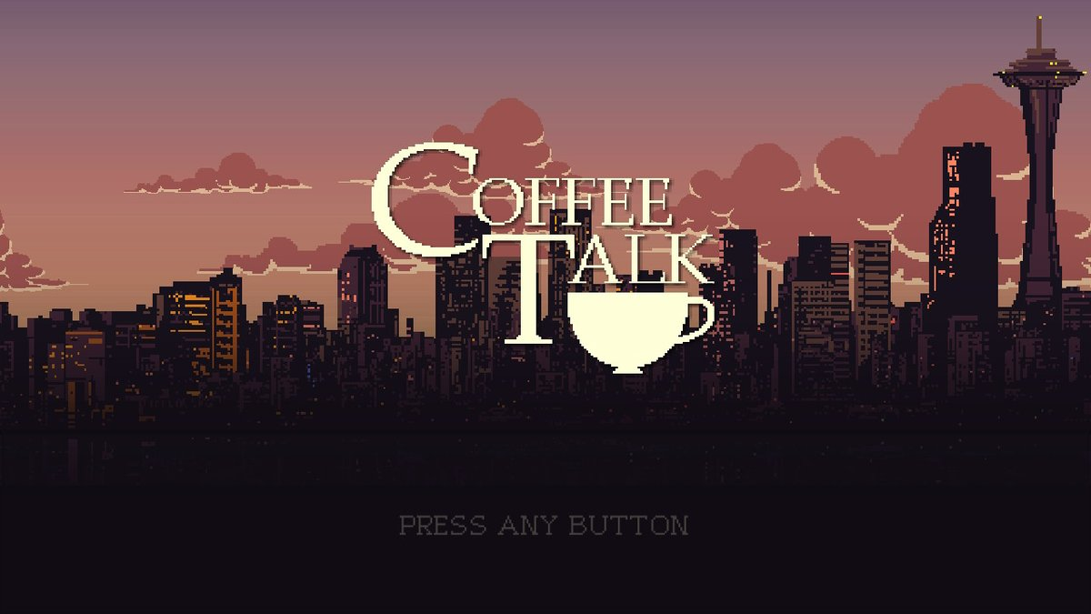 Next up for review is #CoffeeTalk   #GamEir #NintendoSwitch #TogeProductions
