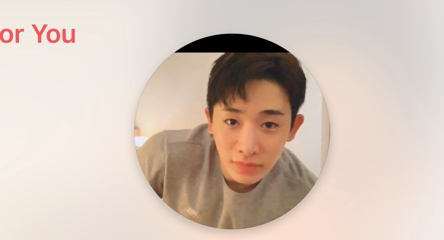 Wonho babe look! This's my pfp for Apple Music. It's from your VLive. Get things sorted and talk to whoever you need to talk to. And then come back ok? How's your English learning?! Everything goes well? I'll see you at world tour 💖💖💖#SevenIsTheHappiestNumber @OfficialMonstaX