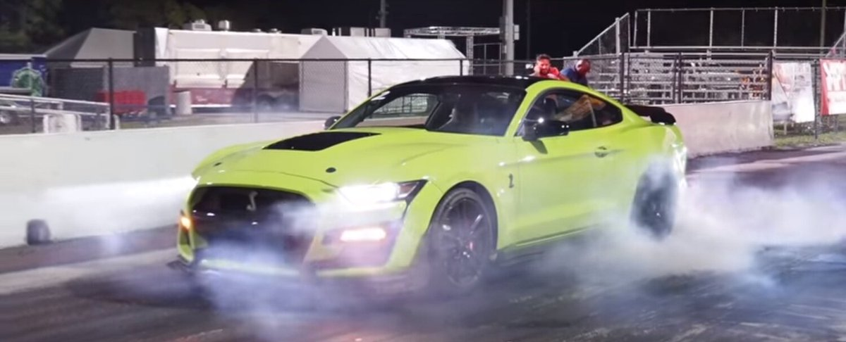 2020 Ford Mustang Shelby GT500 Continues Drag Strip Dominance by Defeating Acura NSX http://dlvr.it/RQCLPq pic.twitter.com/OomkXMlzv0