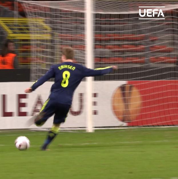 Goals, assists, free-kicks...  Christian Eriksen in the #UEL 🥰