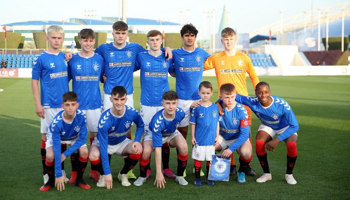 👏 Behind by two goals twice but each time the Young Gers respond in an exciting 4-4 draw against Aspire Academy at the #AlkassIntlCup2020