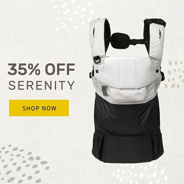 Last chance to take 35% OFF Pursuit Sport & Serenity carriers! https://t.co/8U5sSyvJSo https://t.co/XSttnjHOHr