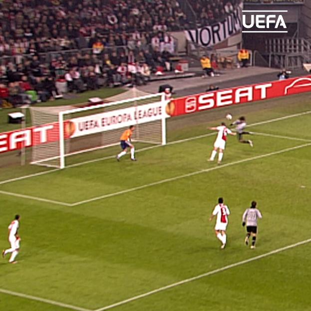 Del Piero's back-heel 💫 De Ceglie's pinpoint cross 🎯 Amauri's header 💥  A stunning @juventusfc goal, #OTD in 2010   #UEL