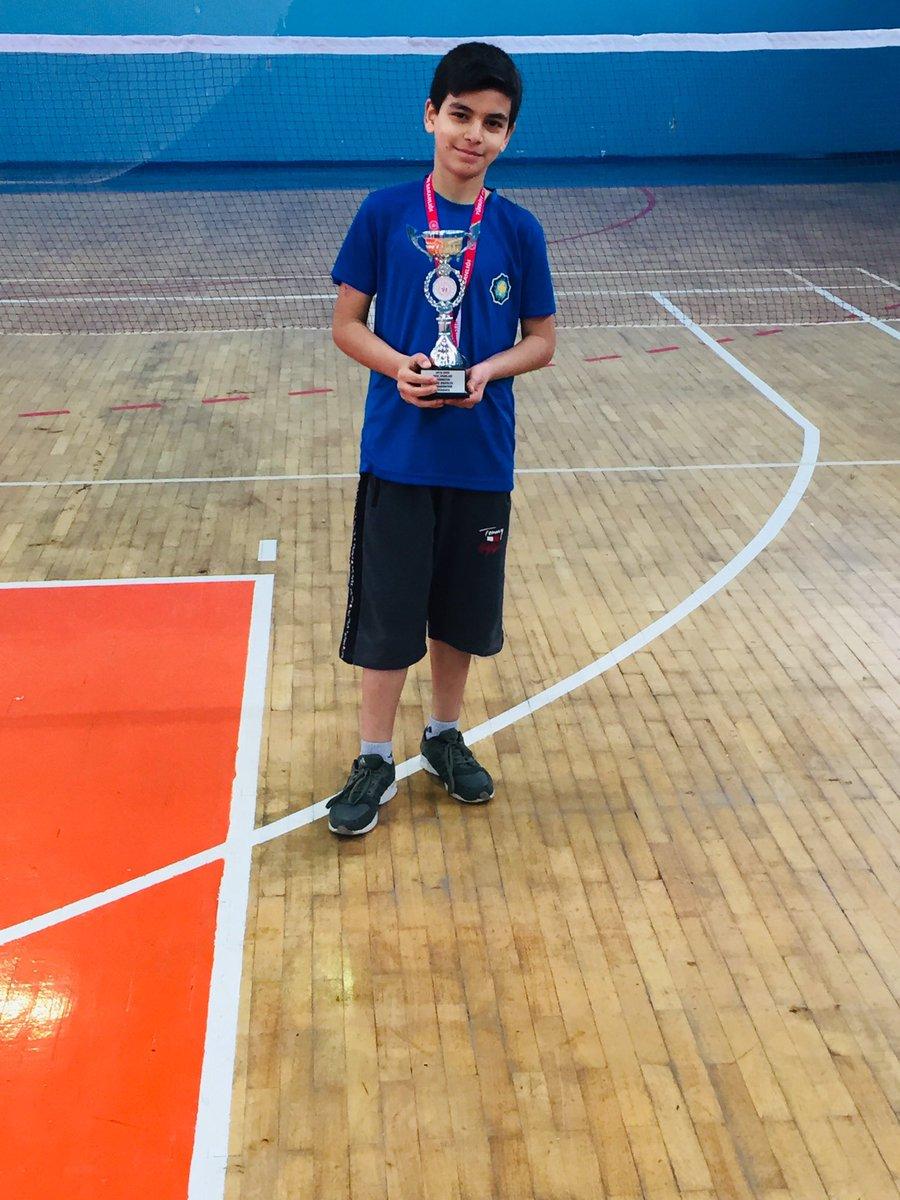 #dahayenibaşlıyoruz #badminton İlk kupa ilk madalya 🏆🏸