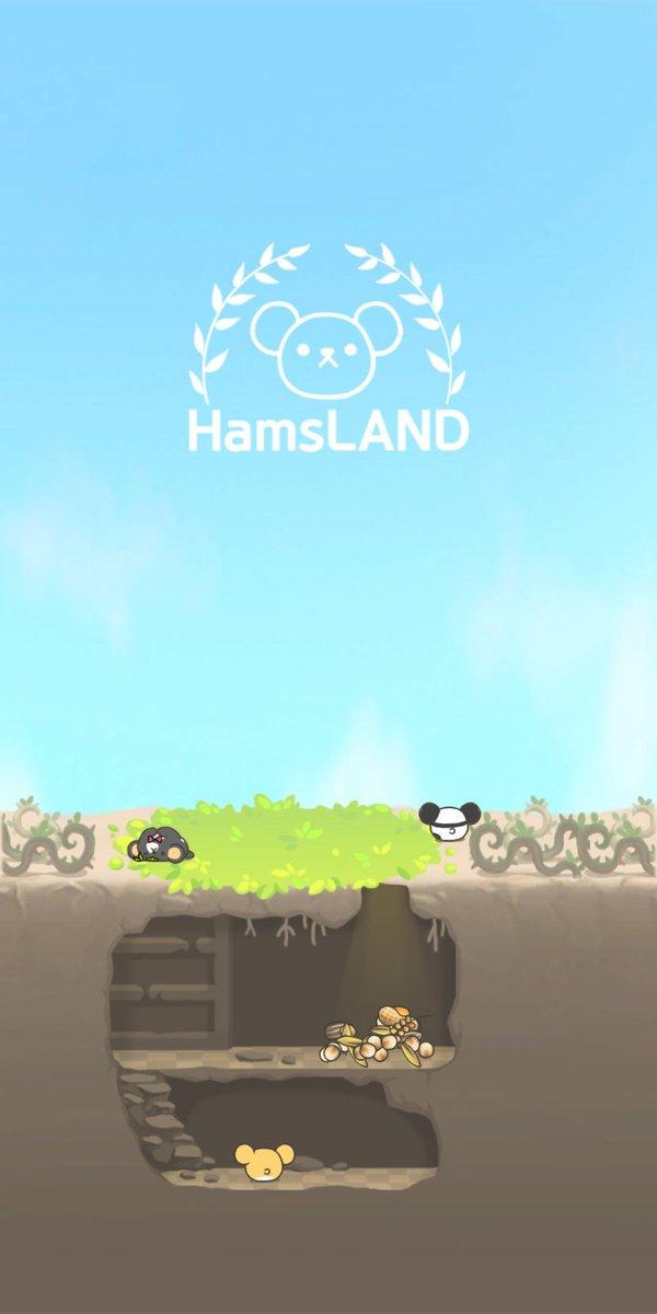 2048のハムスターゲーム可愛い(笑)美人に贈り物の練習にどうぞ😍❤️#HamsLAND #2048 [Download]