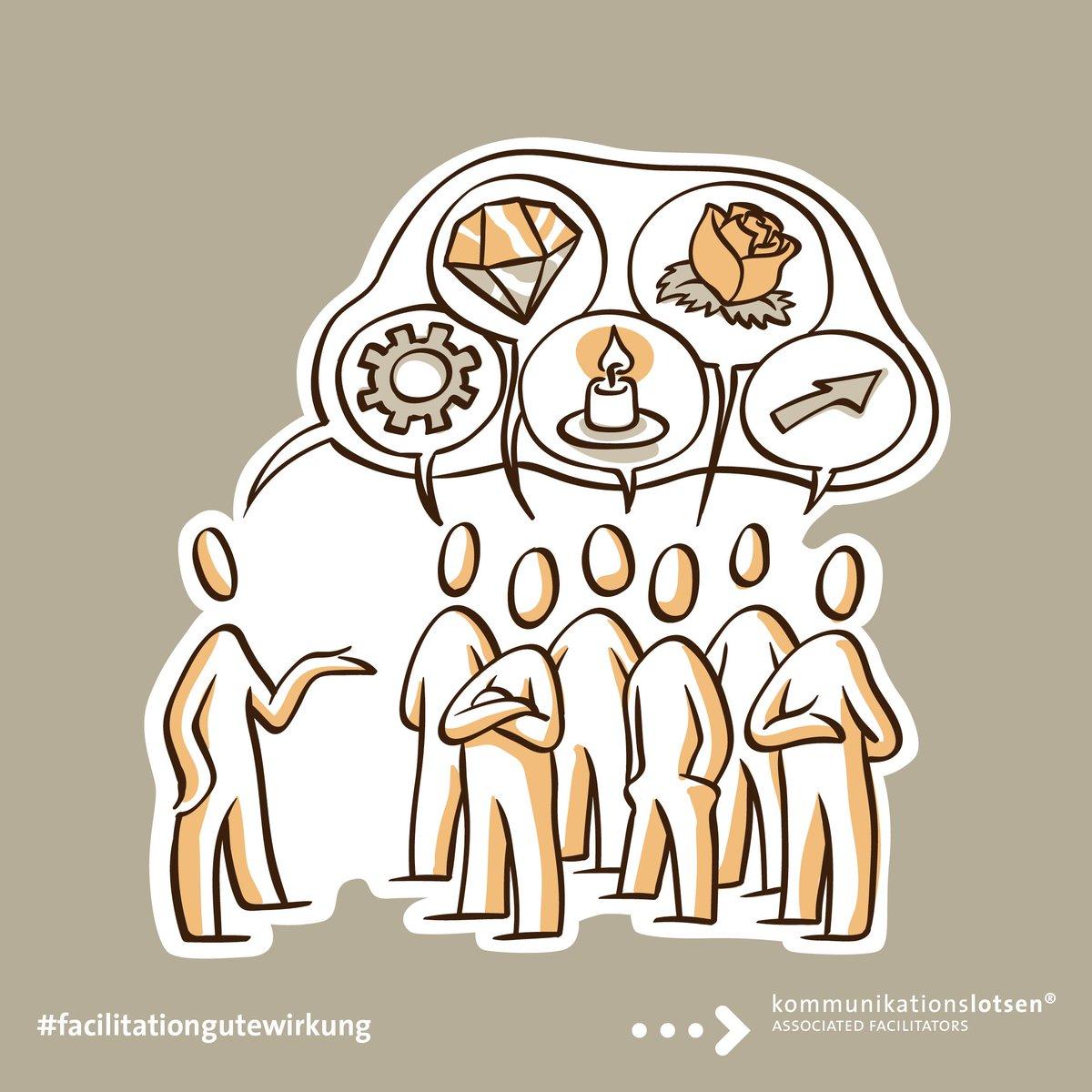 In den 70er-Jahren entwickelten sich synchron verschiedene #Partizipationsverfahren. Aus diesen sind drei noch gültige #facilitative #Prinzipien entstanden: • Fokus auf die #Zukunft • Das ganze #System in einen Raum holen. • Jede #Sichtweise ist wichtig. #kommunikationslotsen https://t.co/sGliXRD2A9