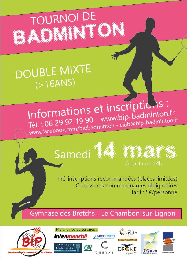 📌 A noter sur votre agenda, samedi 14 mars à partir de 14h, tournoi double mixte du BIP-Badminton 🏸.  #badminton #chambonsurlignon #tournoi #HauteLoire #Ardeche #BIP #14mars2020https://www.facebook.com/bipbadminton/photos/a.573060572752735/2798437960214974…