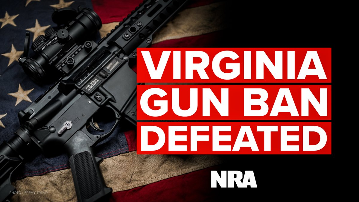 Virginia Governor's Bill To Ban Assault Weapons Fails, With Help From His Own Party