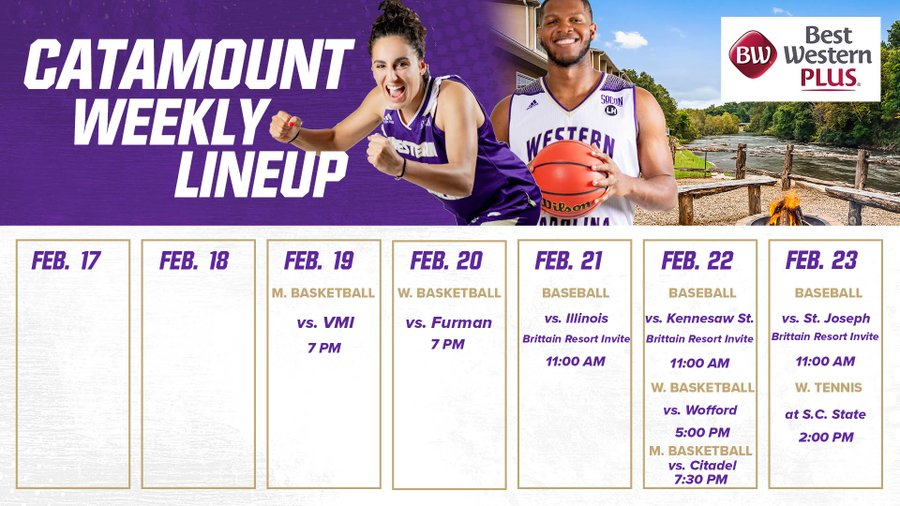Catamount Weekly Calendar  2-23-20