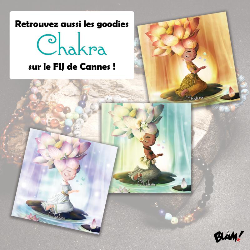 Vous êtes fan du jeu Chakra ? N'oubliez pas de passer nous voir durant le @fijcannes !  @Blackrock_Game #jeuxdesociete #chakra #FIJ2020 #goodies @blam_editionpic.twitter.com/hJorEIE0G5