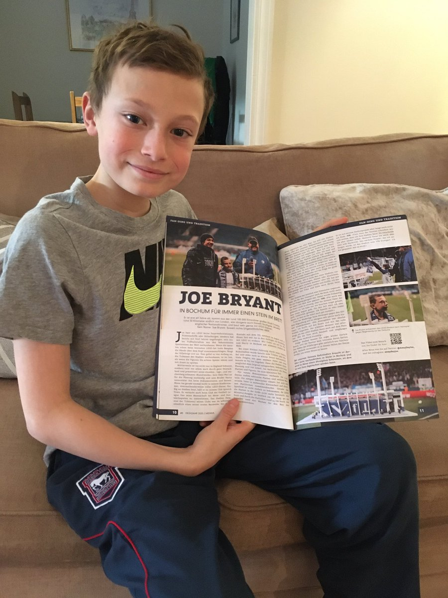 Check this out!! I'm in the new VfL Bochum membership magazine. Very cool. Thank you so much @VfLBochum1848eV @VfLBochum1848EN Enjoy the match tonight! #MeinVfL #BOCVfB <br>http://pic.twitter.com/GqfwfUTjdj