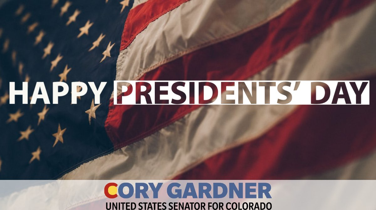 Happy #PresidentsDay! Today our nation commemorates George Washington's birthday and every President since who has served in our country's highest office.