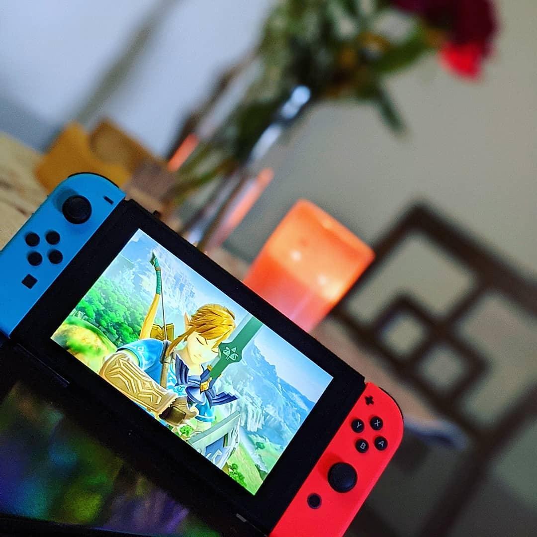 My new baby 😍  #NintendoSwitch