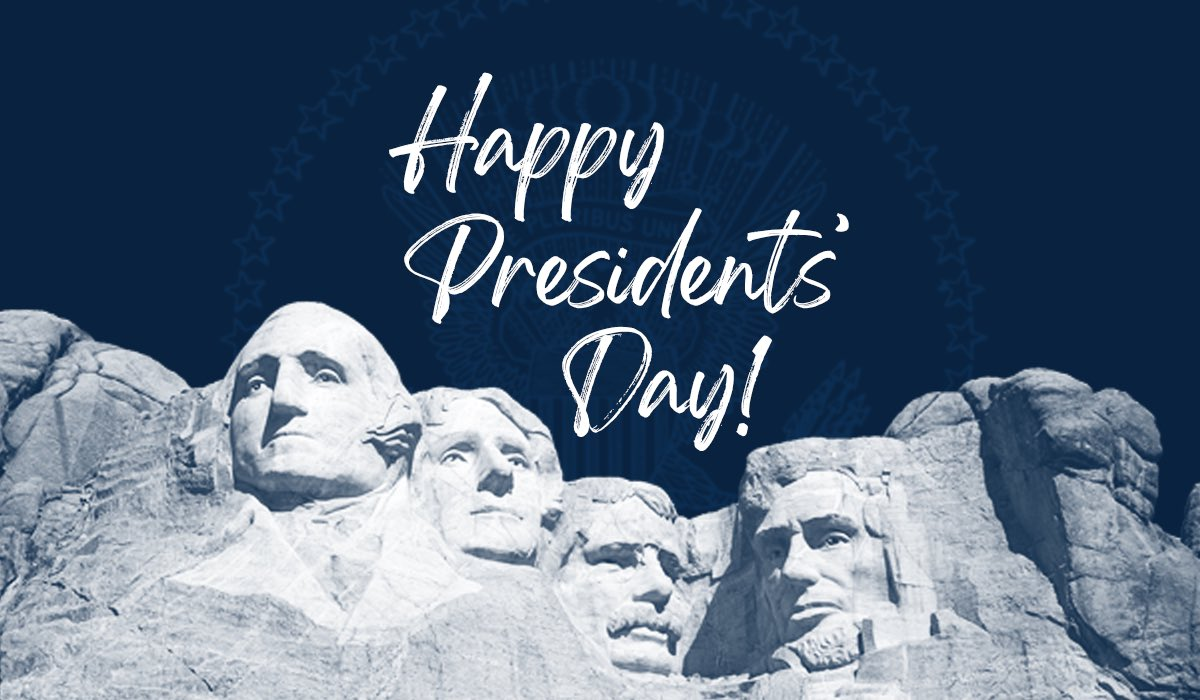 Today we celebrate the leaders who made our country the greatest in the history of the world.   Happy #PresidentsDay  everyone!