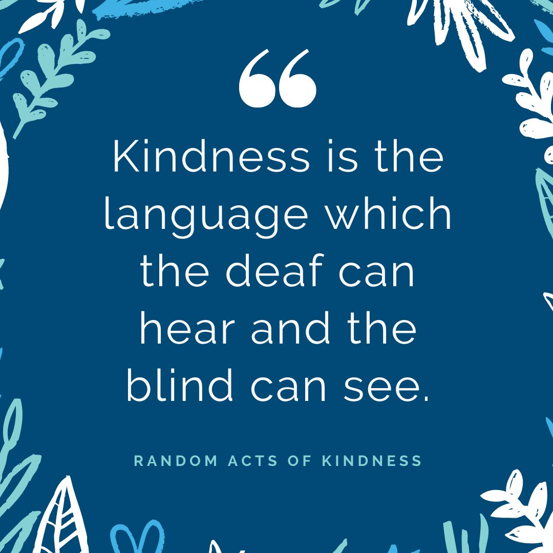 Today is Random Acts of Kindness Day! How have you brightened someone else's day? Let us know how you pay it forward in the comments below! #ROVA #ENT #RandomActsOfKindnessDay2020pic.twitter.com/dB0tzlH0Hp