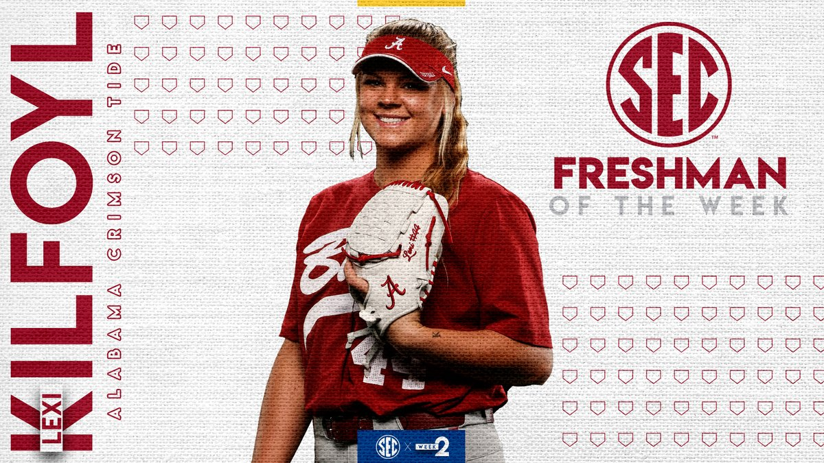 #SECSB Freshman of the Week: @lexikilfoyl Details » bit.ly/2wqEXR9