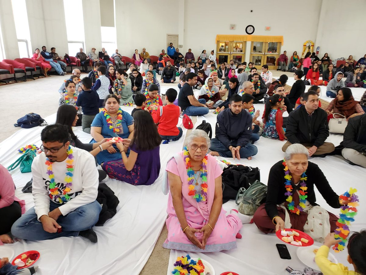 With kind blessings of His Holiness Pujya Sant Shree Asharamji Bapu, Shri Yog Vedant Sewa Samiti  celebrated Parents Worship day on 16 th Feb, 2020 at Bhartiya Cultural Society of Alberta,Edmonton, Canada. #मातृ_पितृ_पूजन_दिवस  #14febparentsworshipday  #Bapuji