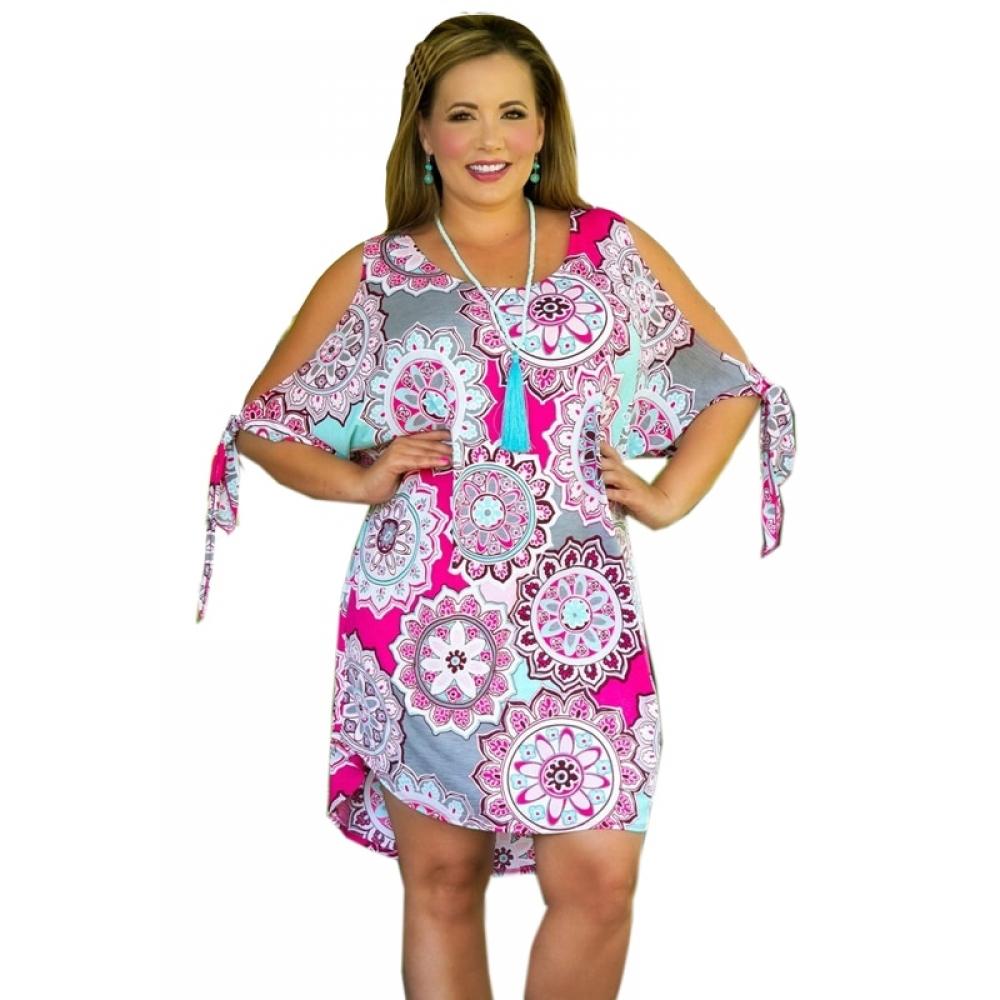 #curves #plussizemodel Spring Plus Size Women's Cotton Dress pic.twitter.com/h0dUtR3S5p