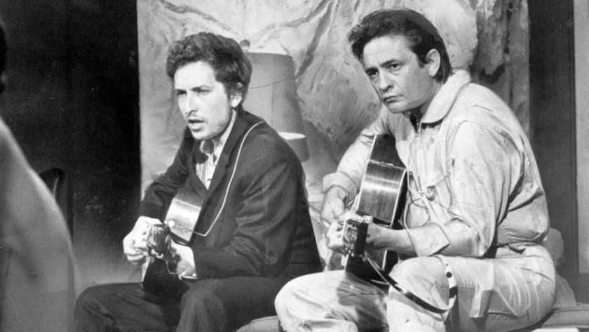 "Innocent Words #VideooftheDay #MusicHistory on this date in 1969 #BobDylan and @JohnnyCash recorded ""Girl From The North Country"" together in Nashville at CBS Studios. The track appeared on Dylan's 'Nashville Skyline' album. http://innocentwords.com/ pic.twitter.com/NMvLnMImBh"