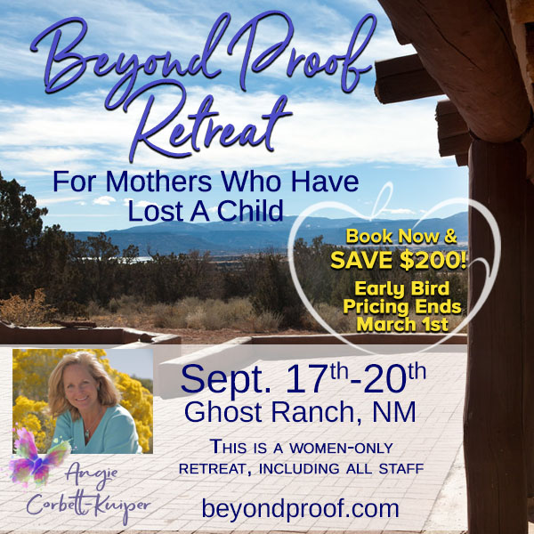 Retreat  Details : All inclusive (excluding airfare) For more details or to book visit https://beyondproof.com/ghost-ranch-retreat … Angie Corbett-Kuiper #mothers #child #loss ##BeyondProofRetreat #BookNow #Save #womenonlypic.twitter.com/gFUAulQPMz