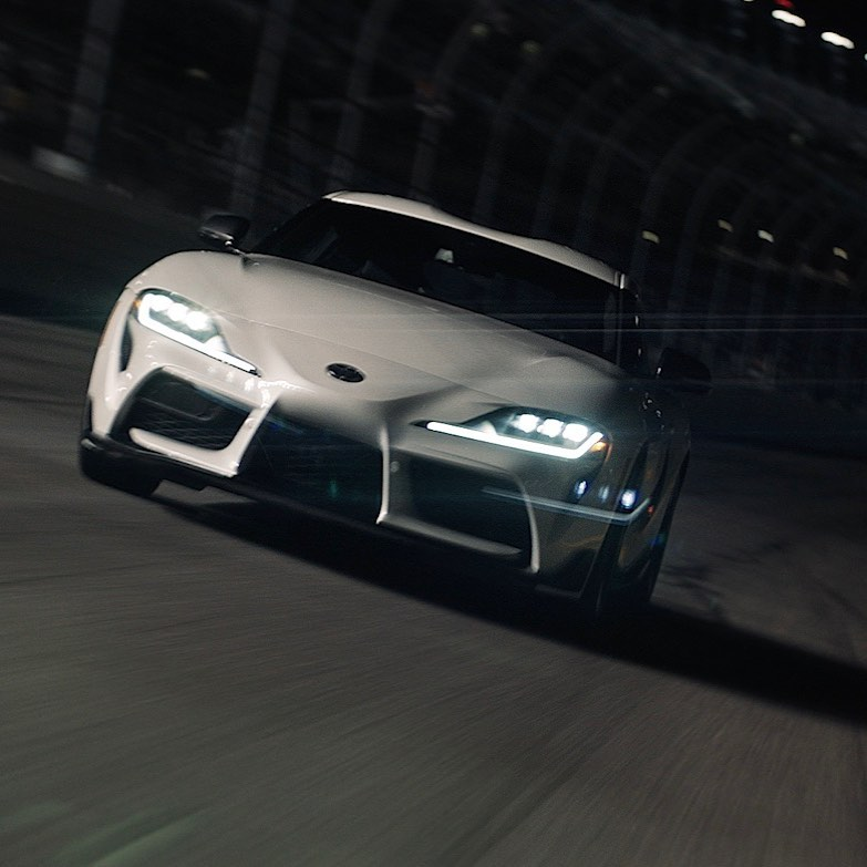 Fast on the street and on the track. The new 2021 GR #Supra hits the track at #DAYTONA500. #LetsGoPlaces #Te... Visit Rogers Toyota at http://bit.ly/2HP5Bnp  http://tinyurl.com/sjsalgk pic.twitter.com/YnQlWX4QqY