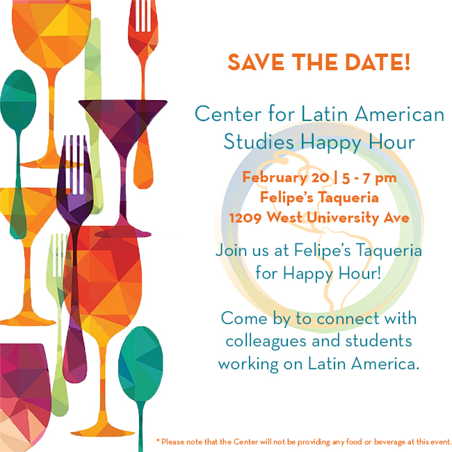 Don't miss our February #HappyHour, coming up Thursday!! #UFLAS