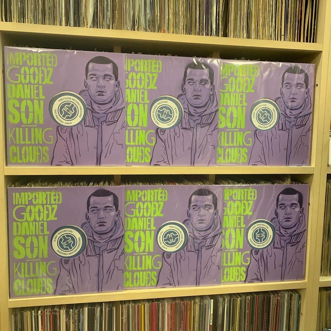 KILLING CLOUDS / IMPORTED GOODZ × DANIEL SON TEST PRESS - Limited 12copies#IMPORTEDGOODZ #DANIELSON #HIPHOP #VINYL #COLLECTION #OBISTRIP #Rap #Beats #Music #Art #Culture #VinylCollection #VinylCollector #RecordCollection #RecordCollector #VinylRecord #goodmusic #vloodspic.twitter.com/KipqCV8WSi