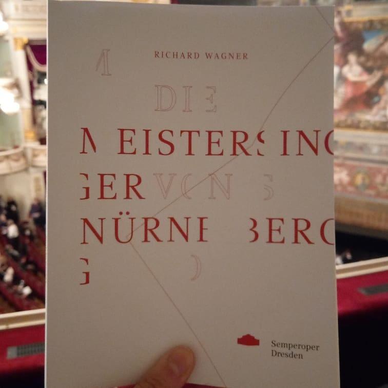 "Yesterday, I saw a great production of ""Meistersinger von Nürnberg"" The singers were all strong. @ODresdens @semperoper #SODmeistersingerpic.twitter.com/YrllKqRHbN"