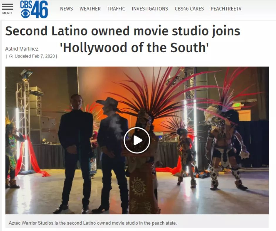 """CBS 46: """"Second Latino owned movie studio joins 'Hollywood of the South'""""  https://www.cbs46.com/news/second-latino-owned-movie-studio-joins-hollywood-of-the-south/article_662b2d22-4a1b-11ea-853f-afb50a1fc491.html…  #latino #hispanic #decatur #film #filmmaking #filmmaker #filming #filmfestival #filmcommunity #filmmakers #filmproduction #filmset #studio #studiolife #studiophotographypic.twitter.com/aabsZ8RuF4"""