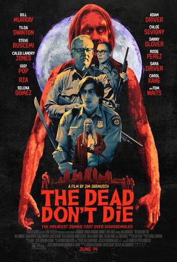 Last night's double feature: Jim Jarmusch's THE DEAD DON'T DIE and Judd Apatow's FUNNY PEOPLE. The former a first time watch I bought last week, I enjoy Jarmusch and I vibed with three quarters of it. The latter I watch almost once every year. Stellar casts with both movies.pic.twitter.com/pvrGRsFtmU