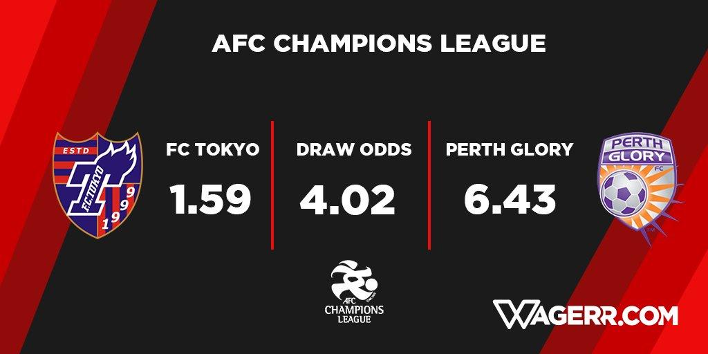 Asian champions league betting odds goal sports betting fixtures international