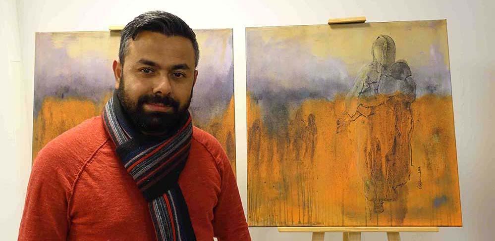 """""""Vom verlorenen Paradies"""": Einblicke in die Gefühls- und Gedankenwelt des syrischen Künstlers #JekarDido #Syrien #RefugeesWelcome #Kunst #Kultur #Meilenstein #Malerei #Dortmund #Marten #Ausstellung #Flucht #Migration #Integration #Krieg https://www.nordstadtblogger.de/vom-verlorenen-paradies-einblicke-in-die-gefuehls-und-gedankenwelt-des-syrischen-kuenstlers-jekar-dido/…pic.twitter.com/6C2VsXzU0X"""